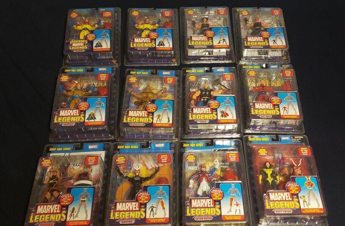 Marvel Legends Entire Giant Man Build A Figure Set (with variants)