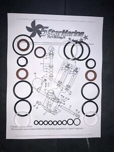 Yamaha 1997-up 115-150-175-200-225hp Seal Kit Power Trim Tilt  Showa Design