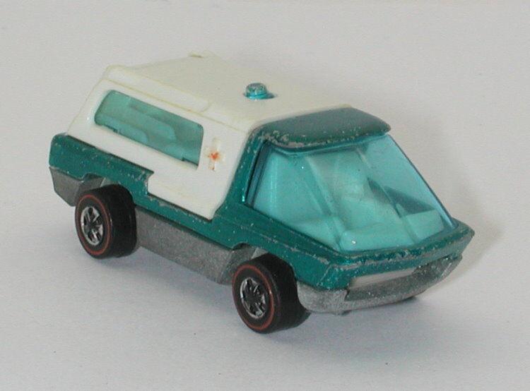 Redline Hotwheels Aqua 1970 Ambulance oc11323
