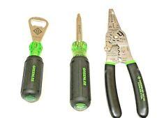Greenlee Electricians Tool Wire Stripper 11 In 1 Screwdriver Bottle Opener