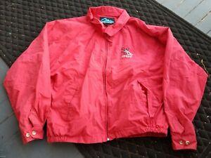 Vintage-SCRANTON-Wilkes-Barre-RED-BARONS-MINOR-LEAGUE-STAFF-Baseball-Jacket-XL-b