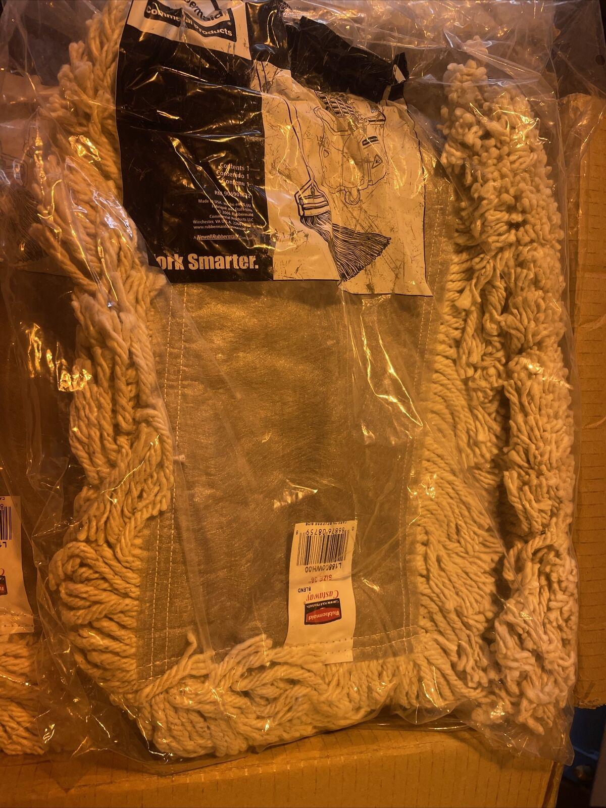 17 Dust Mops. Rubbermaid Kut-A-Way Dust Mops, White, 36 Inch - L15500WH00
