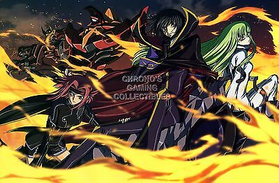 RGC Huge Poster CGE021 Code Geass Anime Poster Glossy Finish