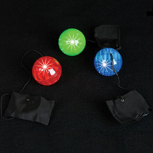 10 pcs BULK BUY SAVINGS LED Light Up Orbit Ball with Bracelet for Spinning