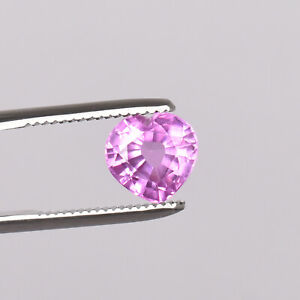 6.80 Ct Natural Ceylon Pink Color Sapphire Heart Shape Loose Certified Gemstone