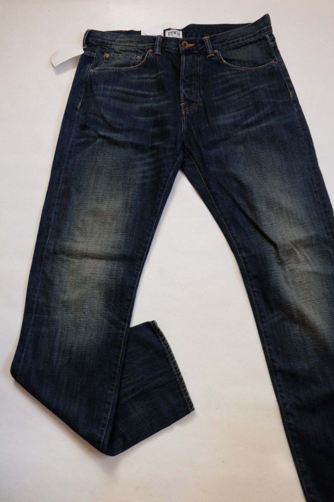 JEANS EDWIN MAN ED 80 SLIM TAPERED (white listed-dark slush) W29 L34 VAL