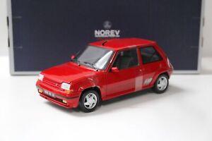 1:18 Norev Renault R5 SuperCinq GT Turbo red 1989