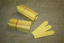 50 Holzschilder für Garten zum Beschriften, Kräuterschild, Etikett, Aussaat,14cm