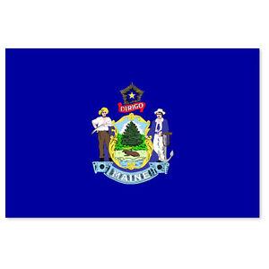 Maine-State-Flag-car-bumper-sticker-5-034-x-4-034