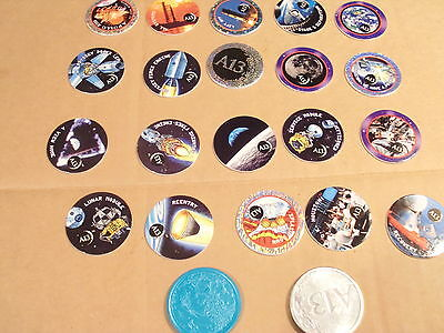 FREE SHIPPING in the US-Vintage Pogs Set with Slammer