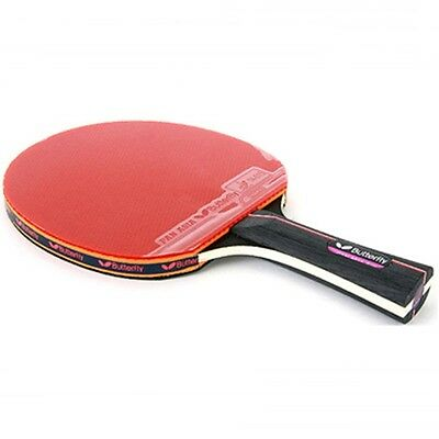 Butterfly Table Tennis Paddles Racket Bat Shake Hand Grip Ping Pong PAN ASIA-S10