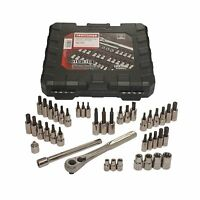 Craftsman 42 piece 1 4 and 3 8-inch Drive Bit and Torx Bit Socket Wrench Set 1 4 in. Tools and Accessories