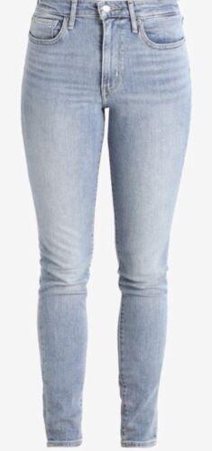 Levi/'s Women's 721 High Rise Skinny Jeans Skinny Fit Light-Blue Denim
