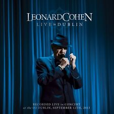 LEONARD COHEN - LIVE IN DUBLIN - 3CD NEW SEALED 2014