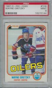 PSA-9-MINT-1981-O-Pee-Chee-OPC-Wayne-Gretzky-106-ONLY-18-HIGHER-NHL-HOF-OfferOK