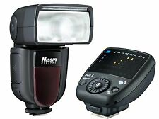 Blitzgerät Nissin SpeedLite DI700 A inkl. Commander Air 1 für Nikon D5500 D7200