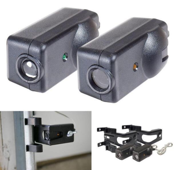 New 2 Safety Sensors Garage Door Open/Close For