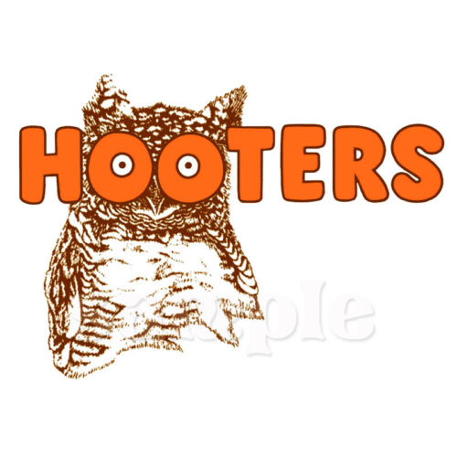 HOOTERS IRON ON TRANSFER