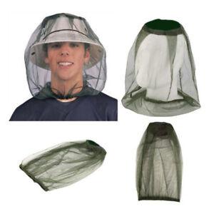 Gesicht-Reise-Mosquito-Camping-Midge-Net-Insektennetz-Schutz-Hut-Kopf-Bug