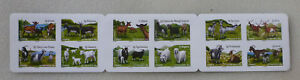 2015-FRANCE-GOATS-2-X-STRIPS-OF-12-PEEL-amp-STICK-MINT-STAMPS