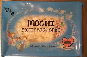 Mochi Sweet Rice Cake Topping