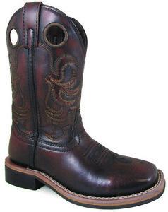 Smoky Mountain Kids Blaze Square Toe Boots