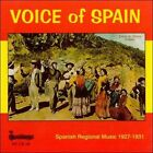 Voice of Spain: Spanish Regional Music 1927-1931 by Various Artists (CD, Oct-1996, Heritage)