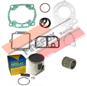 Kawasaki KX125 KX 1991 56mm Bore Mitaka Top End Rebuild Kit Inc Piston & Gaskets