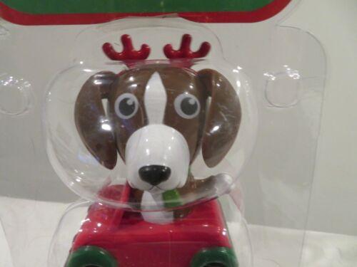 Dachshund Dog Dancing Christmas Holiday Wobble Solar Character NEW