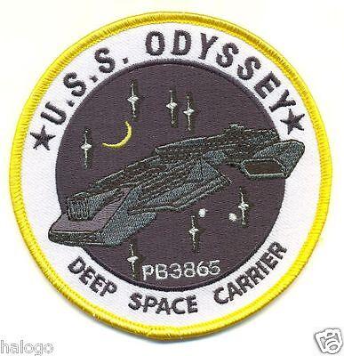 STARGATE USS ODYSSEY PATCH - SGAT06