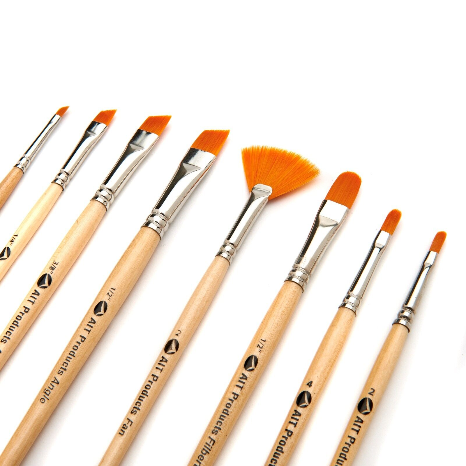 50X Artist Paint Brushes Set Acrylic Oil Watercolor Painting Craft Art Model@WY