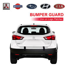 Rear Bumper Guard Protector For City Parking 6x75 Inch All Around Protection B