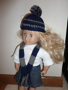 Hand Crocheted American Girl Doll Clothes Harry Potter Ravenclaw