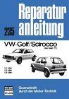 VW Golf Scirocco bis 09/77 (2012, Kunststoffeinband)