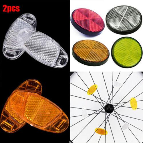 Sicherheit Zubehör für Fahrradreflexe Reflektierende Räder Reflektor des Rades
