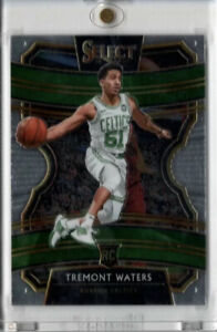 2019-20-Panini-Select-Concourse-43-Tremont-Waters-RC-Rookie-Card-Boston-Celtics