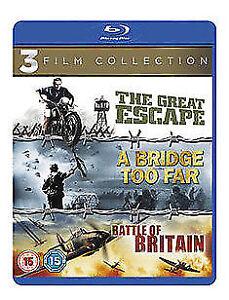 A Bridge Too Far / The Great Escape / Battle Of Britain Blu-Ray NEW BLU-RAY (340 5039036062893
