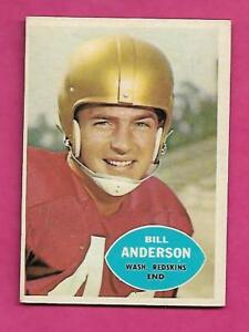 1960-TOPPS-126-REDSKINS-BILL-ANDERSON-ROOKIE-EX-MT-CARD-INV-C0523