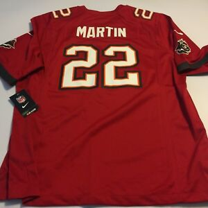 35ebd1b5a29 NIKE NFL Players Tampa Bay Buccaneers 22 Martin Football Jersey XL ...