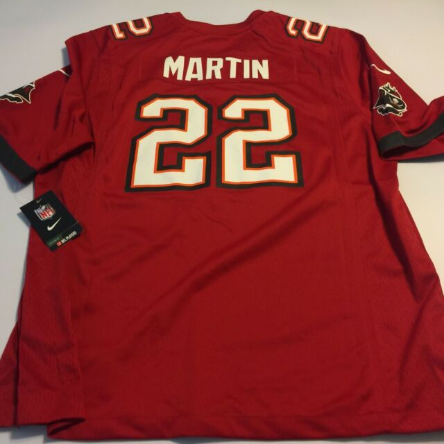 8fb4e118c NIKE NFL Players Tampa Bay Buccaneers 22 Martin Football Jersey XL On Field