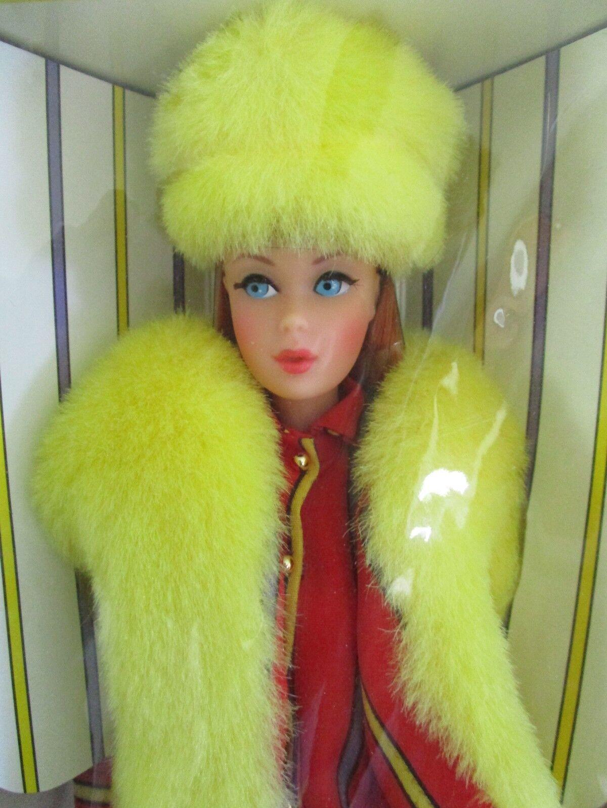 Twist & Giro pelirroja Barbie en caja original con menta 23258  reproducción 1967 en 1997