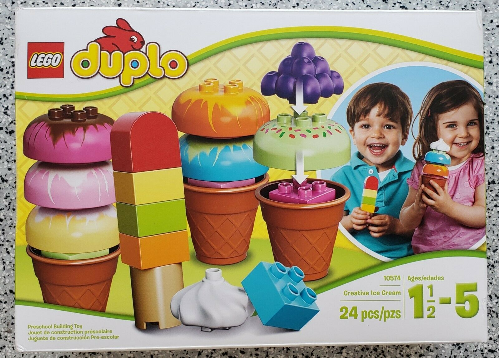 Lego Duplo Creative Ice  Cream (10574)  Nouvelle liste