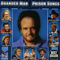 Various Artists - Branded Man: Prison Songs / Various [new Cd] on Sale