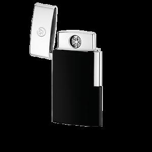 S.T. Dupont Lighter E Slim (Electronic) Black - 027004E