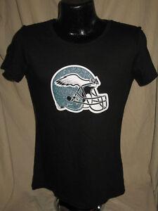NFL Philadelphia Eagles Football Helmet Top T Shirt Womens Sizes Nwt ... 765f658430