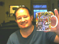 MARVEL HEREOS COMIC BOOK FRONT COVERS MUG PERFECT XMAS GIFT