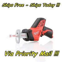 1 MILWAUKEE 2420-20 M12 12 VOLT 12V CORDLESS HACKZALL RECIPROCATING SAW NEW Tools and Accessories