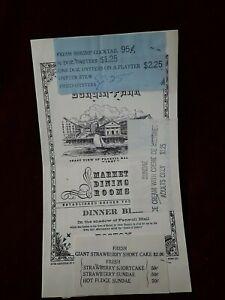 Detalles acerca de Menú Boston Durgin Park cena Bill mercado comedores  menú- mostrar título original