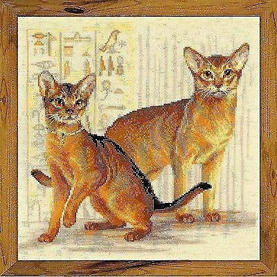 Counted Cross Stitch Kit RIOLIS Abyssinian cats