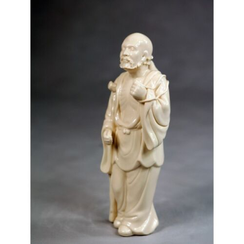 """Porzellanfigur /""""Die Acht Unsterblichen Li Tieguai/"""" Porzellanskulptur China"""